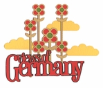 Guten Tag: Views Of Germany Laser Die Cut