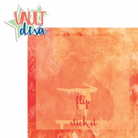 Gymnastics: Vault Diva 2 Piece Laser Die Cut Kit