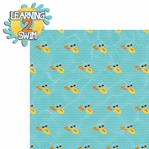 H20: Learn 2 Swim 2 Piece Laser Die Cut Kit