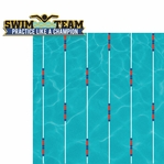 H20: Swim Team 2 Piece Laser Die Cut Kit