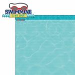 H20: Swimming is my sport 2 Piece Laser Die Cut Kit