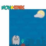Halloween Fun: Mon-Star 2 Piece Laser Die Cut Kit