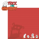 Halloween Fun: Trick Or Treat 2 Piece Laser Die Cut Kit