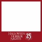 Halloween Horror Nights 2015 12 x 12 Overlay Laser Die Cut