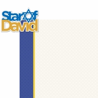 Hanukkah: Star Of David 2 Piece Laser Die Cut Kit