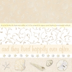 Happily 12 x 12 Pearl Foil Paper