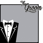 Happily Ever After: Groom 2 Piece Laser Die Cut Kit