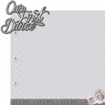 Happily Ever After: Our First Dance 2 Piece Laser Die Cut Kit