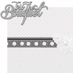 Happily Ever After: Toss The Bouquet 2 Piece Laser Die Cut Kit