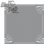 Happily Ever After: Wedding Party 2 Piece Laser Die Cut Kit