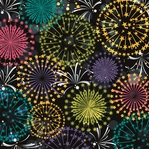 Happy 2014!: Fireworks 12 x 12 paper