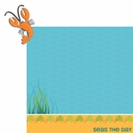 Happy Beach: Lobster 2 Piece Laser Die Cut Kit