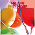 Happy Birthday 3D 2 Piece Laser Die Cut Kit