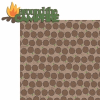 Happy Camper: Around The Campfire 2 Piece Laser Die Cut Kit