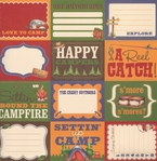 Happy Camper: Roughin' It 12 x 12 Double-Sided Paper
