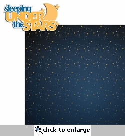 Happy Camper: Sleeping Under The Stars 2 Piece Laser Die Cut Kit
