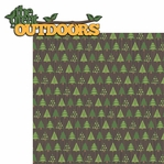 Happy Camper: The Great Outdoors 2 Piece Laser Die Cut Kit