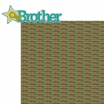 Happy Family: Brother 2 Piece Laser Die Cut Kit