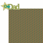 Happy Family: Dad 2 Piece Laser Die Cut Kit
