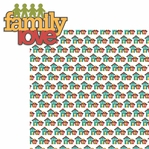 Happy Family: Family Love 2 Piece Laser Die Cut Kit