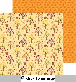 Happy Harvest: Apple Orchard 12 x 12 Double-Sided Cardstock