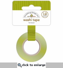 Happy Harvest: Fernwood Washi Tape 12 Yards