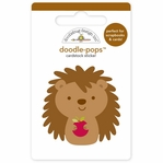 Happy Harvest: Happy Hedgehog Doodle-Pops 3-D Stickers