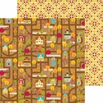 Happy Harvest: Harvest Home 12 x 12 Double-Sided Cardstock