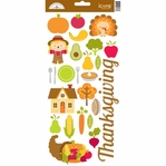 Happy Harvest: Thanksgiving 6 x 12 Cardstock Stickers