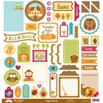 Happy Harvest: This & That 12 x 12 Cardstock Stickers