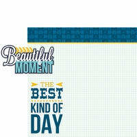 Happy Moments: Beautiful Moment 2 Piece Laser Die Cut Kit
