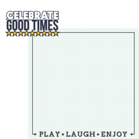 Happy Moments: Good Times 2 Piece Laser Die Cut Kit