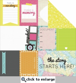 Happy Snaps: Hot Shot 12 x 12 Double-Sided Cardstock