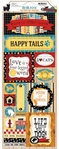 Happy Tails 6 x 12 Cardstock Sticker Sheet