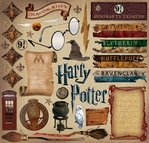 Harry Potter: Harry Potter 12 x 12 Sticker Sheet#