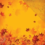 Harvest: Fall Breeze 12 x 12 Double-Sided Cardstock