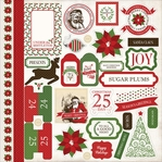 Have A Merry Christmas 12 x 12 Cardstock Stickers