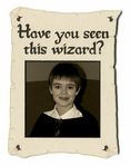 Have You Seen This Wizard Photo Frame Laser Die Cut