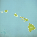 Hawaii: The Hawaiian Islands 12 x 12 Paper