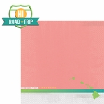 Hawaii Travels: HI Road Trip 2 Piece Laser Die Cut Kit