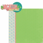 Hawaii Travels: HI Vacation Memories 2 Piece Laser Die Cut Kit