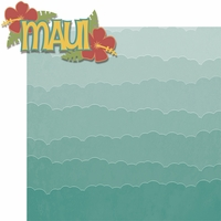 Hawaiian Getaway: Maui 2 Piece Laser Die Cut Kit