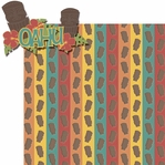 Hawaiian Getaway: Oahu 2 Piece Laser Die Cut Kit