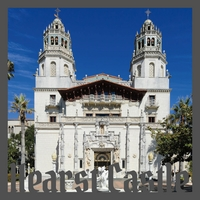 Hearst Castle 12 x 12 Overlay Quick Page Laser Die Cut