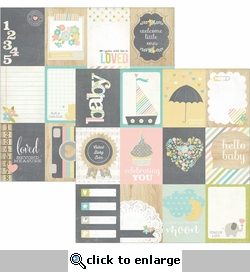 Hello Baby 3 x 4 Journaling Cards