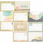 Hello Baby 4 x 6 Horizontal Journaling Cards 1