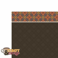 Hello Fall: Comfy Cozy 2 Piece Laser Die Cut Kit