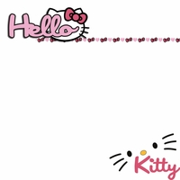 Hello Kitty: Hello 2 Piece Laser Die Cut Kit