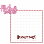 Hershey World: Hershey Spring 2 Piece Laser Die Cut Kit