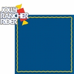 Hershey World: Jolly Rancher Rider 2 Piece Laser Die Cut Kit